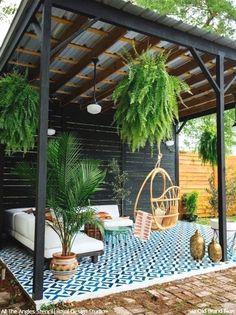 Backyard Patio Designs, Backyard Pergola, Diy Patio, Gazebo, Patio Ideas, Pergola Ideas, Landscaping Ideas, Backyard Ideas, Backyard Projects