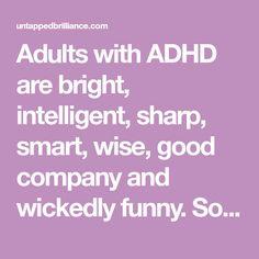 Asd Spectrum, Adhd Facts, Adhd Funny, Adhd Quotes, Adhd Help, Adhd Brain, Adhd Strategies, Feeling Stupid, Adhd And Autism