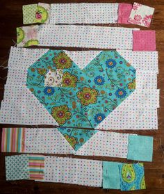 """Be My Valentine"" Jelly Roll Quilt – tried and tested 