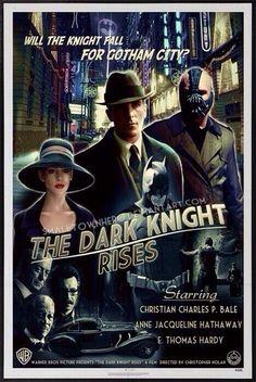 TDKR film noir style