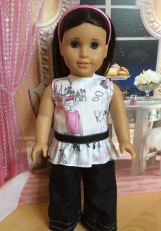 18 inch doll clothes American Girl doll clothes by SweetPeaKidz