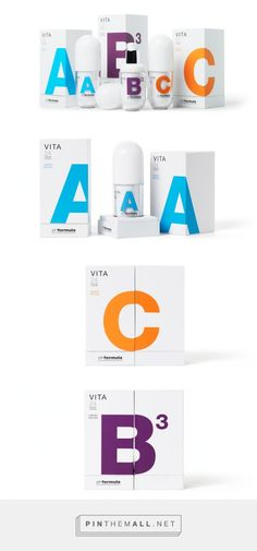 VITA bodycare packaging designed by PUIGDEMONT ROCA​ - http://www.packagingoftheworld.com/2015/07/vita.html