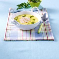 Kalte gelbe Paprika-Kokosmilch-Suppe Rezept   LECKER