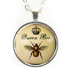 Queen Bee Necklace  I love Queen Bee jewelry, this one is particularly nice!