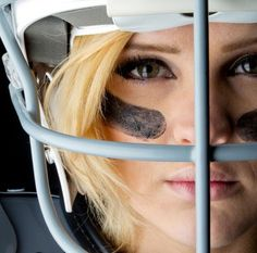 because it's hard headed. American Football, Football Facemask, Train Like A Beast, Game Face, Sport Photography, Character Modeling, Lacrosse, Softball, Fantasy Football