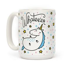 You gotta be you. This unicorn coffee mug is a cute illustration of a sassy unicorn living their life! Perfect for a unicorn lover, unicorn gifts, lazy day, sassy gifts, feeling sassy and for spreading your unicorn love! Cute Coffee Mugs, Cool Mugs, Coffee Cups, Coffee Gifts, Funny Coffee, Coffee Beans, Coffee Maker, Diy Becher, Unicorn Coffee Mug