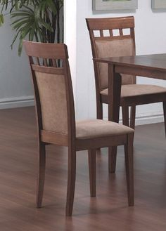 Coaster Home Furnishings 101773 Casual Dining Chair Walnut Set of 2 * More info could be found at the image url.Note:It is affiliate link to Amazon. #amazing