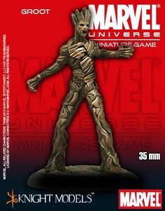 Marvel Universe Miniature Game Guardians of the Galaxy Groot | Nerdvana Gaming