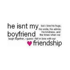 He Isn't My Boyfriend