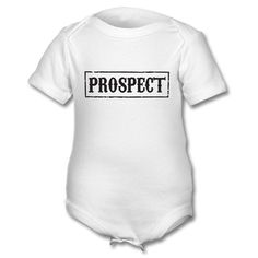 Prospect - Samcro Baby Grow (Sons Of Anarchy - Personailsed Baby grow)