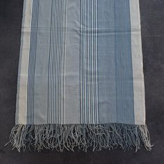 handwoven throw, made in Sumba __ via Cloth and Goods