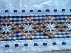 Resultado de imagen para diseños para toallas en bordado español