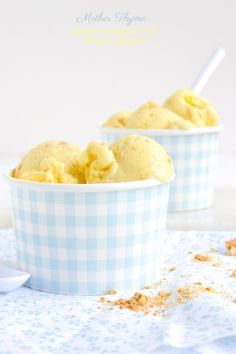 Lemon Cream Pie Frozen Yogurt