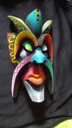 African Masks, African Art, Vegito Y Gogeta, Tiki Totem, Tiki Mask, Masks Art, Aboriginal Art, New Art, Folk Art