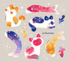 Cat Fish Kite.
