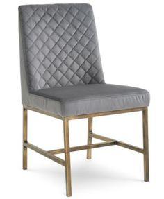Cambridge Dining Side Chair (Gray) | macys.com
