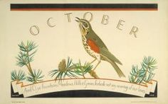 October, by Irene Fawkes, 1928