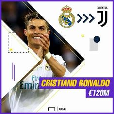 OFFICIAL: Real Madrid have confirmed Cristiano Ronaldo's transfer to Juventus Real Madrid Basketball, Cr7 Juventus, Eden Hazard Chelsea, Real Zaragoza, Upcoming Matches, League Table, James Rodriguez, Athletic Clubs, Cristiano Ronaldo