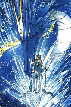 CLAMP - Magic Knight Rayearth【Umi/Marine Ryuuzaki & Selece】