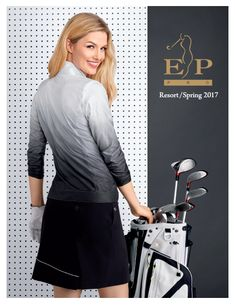 Sporty and stylish EP Pro ladies golf apparel for Spring 2017 Collection coming soon at #lorisgolfshoppe . Tap and bookmark now.