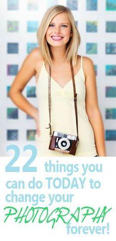22 dicas para mudar suas fotos para sempre