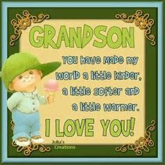 To My Grandson Quotes - Bing images