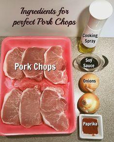 Alisha's Favorite Pork Chops with Caramelized Onions
