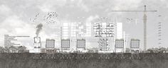 Vladimir Dimitrov | Navotas Public Cemetery: Cemetery with Social Housings | Section | Diploma Project