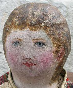 antique folk art doll