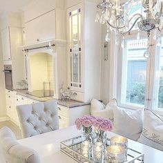 This is white done right. All the textures make it warm and cozy.