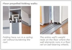 Ceiling Mounted Wall Solutions Have Many Advantages