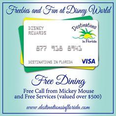 #FreeDining at Walt Disney World Fall 2014