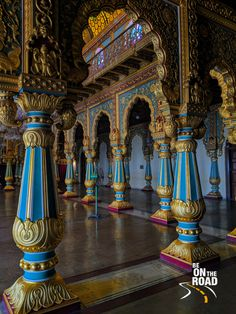 Color, riches and beauty galore inside Mysore Palace India Architecture, Beautiful Architecture, India Destinations, Mysore Palace, Meaningful Pictures, Incredible India, Amazing, Best Photo Background, Hampi