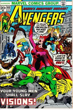 Avengers 113 1st Series 1963 July 1973     Marvel Comics