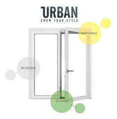 #URBAN è una finestra che vuole ROMPERE gli SCHEMI TRADIZIONALI ed uscire dalla solita prospettiva in cui siamo abituati a vedere le finestre. #naturalmenteprotetti con urban di Sidel srl