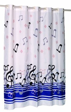 Nice Carnation Home Fashions EZ On No Hooks Needed! Fabric Shower Curtain, 70 By  75