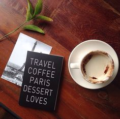 ✈️☕️#travel#coffee#paris#dessert#loves