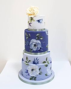 Eat Carbohydrates and Lose Weight - Now You Can Get the Lean Body You Have Always Desired. Without Avoiding Carbs or Starving Yourself to Death. Laura Ashley Usa, National Dessert Day, Painted Wedding Cake, Pie Cake, Lean Body, Floral Cake, Purple Wedding, Wedding Cakes, Lose Weight