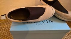 Lanvin Ss15 Leather Slip On Sneakers Size 9 $189 - Grailed