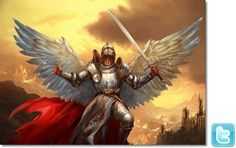 Godly Armies | WARRIOR ANGELS, DEFEATING EVIL SPIRITS AND CASTING THEM INTO THE LAKE ...