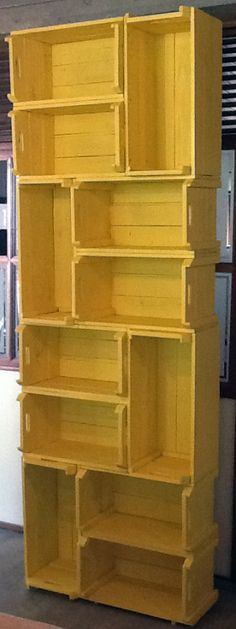 19 Ideas Diy Muebles Rusticos For 2019 Pallet Furniture, Furniture Design, Diy Home Decor, Room Decor, Wood Pallets, Home Projects, Crates, Sweet Home, Woodworking