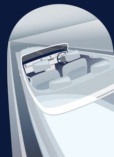 Rolls-Royce previews art deco-inspired cars with posters - Car Body Design