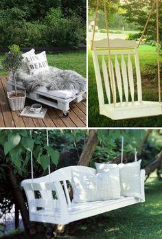 FINGERFABRIK: Let's go into the Garden... Garden deco and Garden furniture DIY * Komm, wir gehen in den Garten... Gartendeko und Gartenmöbel DIY