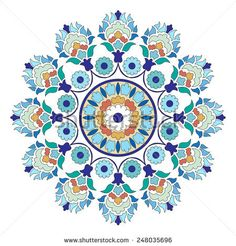 Ornament and design Ottoman decorative arts - buy this vector on Shutterstock & find other images.