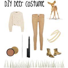 Cute DIY Deer Costume
