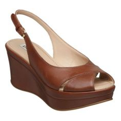 GREED D - Cross Strap Medium Wedge | Wedge Sandals | Dune