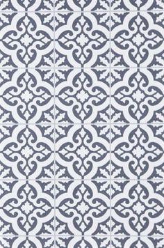 Tapetsera med marockanskt kakel! Tapet Rachel grå, nonwoven material., 399 kronor, per rulle, Ellos.