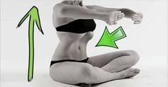 Questo semplice esercizio è molto efficace e molto diffuso tra chi pratica yoga. Ti aiuterà a rinforzare i muscoli addominali e a ridurre il giro vita in 3 o 4 settimane. Bisognerà effettuare almeno 5 ripetizioni. Nonostante possa sembrare difficile, dopo qualche tentativo i muscoli si tonificheranno, rendendo tutto più semplice. Posizione iniziale: Sdraiati sulla schiena mantenendo le braccia vicine al corpo. Piega le ginocchia e rilassa i muscoli. Espira lentamente, lasciando uscire l'a...