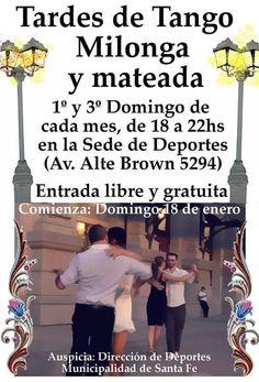 Santa Fe: Tardes de Tango, Milonga y mateada