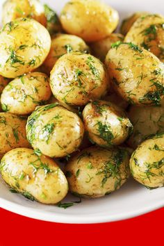Try these grilled new potatoes next time you have a cookout. They will compliment just about any meat and they are delicious too.